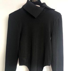 Wolford Black Bodysuit Size M